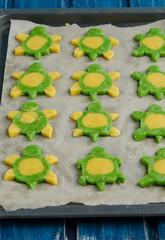 Baby shortbread biscuits