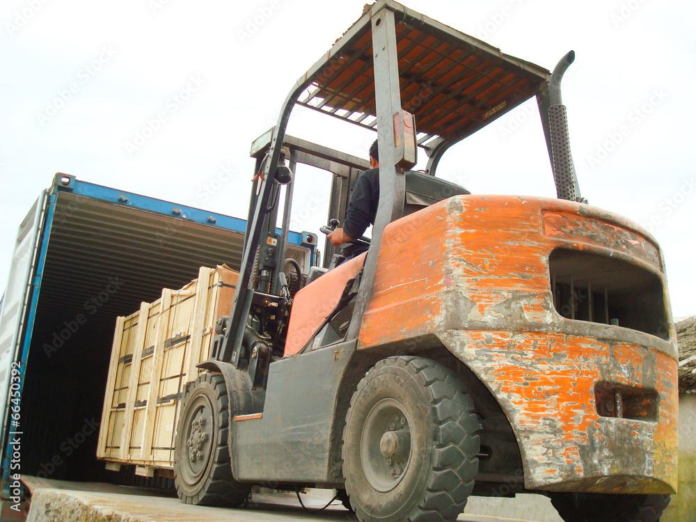 cargo pojemnik rampa - powiększenie