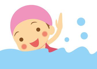 水泳 女の子