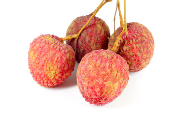 lychees sweet thai fruit.