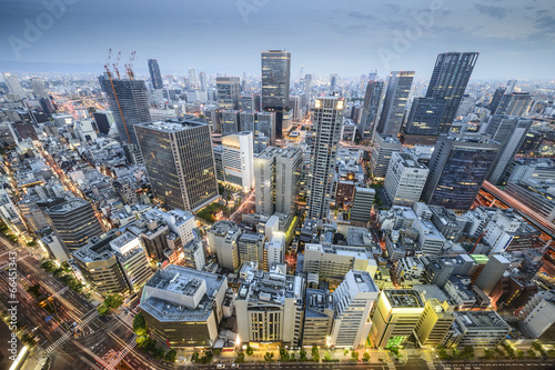 Foto op Plexiglas Japan Osaka, Japan cityscape