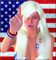 4th of July Celebration.American flag background.