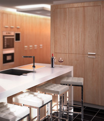 Modern Kitchen Project (detail)