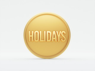 Holidays Concept