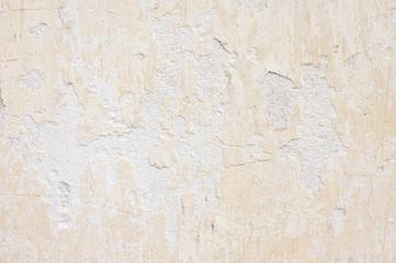 Weathered whitewashed wall
