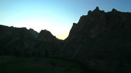 Smith Rocks Time Lapse Sunrise