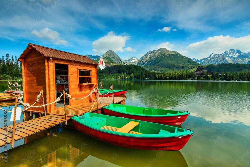 łowienie podróż jęzioro - powiększenie