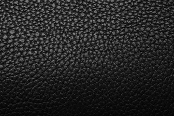 Black dark leather background