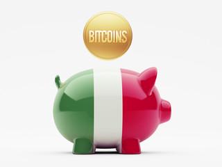 Italy Bitcoin Concept