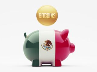 Mexico. Bitcoin Concept