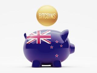 New Zealand Bitcoin Concept