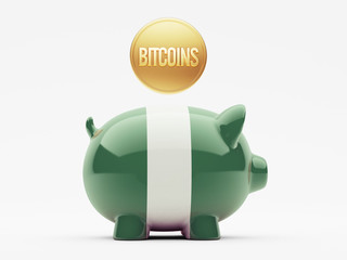 Nigeria Bitcoin Concept