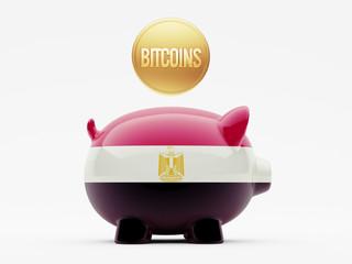 Egypt Bitcoin Concept