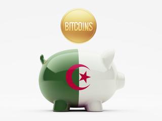 Algeria Bitcoin Concept