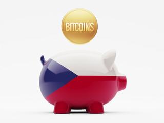 Czech Republic Bitcoin Concept