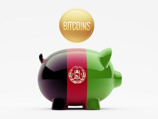 Afghanistan. Bitcoin Concept