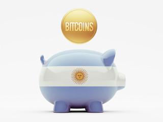Argentina Bitcoin Concept