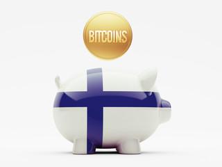 Finland Bitcoin Concept