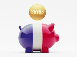 France Bitcoin Concept