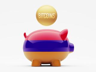 Armenia Bitcoin Concept