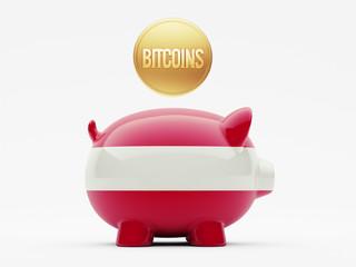 Austria Bitcoin Concept
