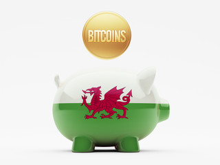 Wales Bitcoin Concept