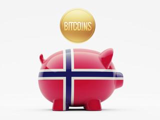 Norway Bitcoin Concept