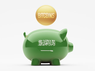 Saudi Arabia Bitcoin Concept