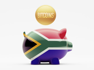 South Africa Bitcoin Concept