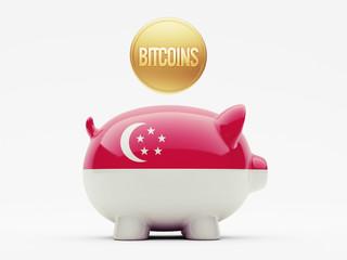 Singapore Bitcoin Concept