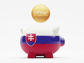 Slovakia Bitcoin Concept