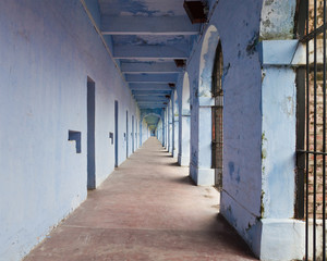 Port Blair Prison Cells in the Andaman Islands