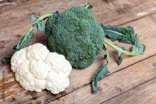 Broccoli & cauliflower