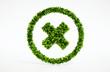 3d render image of eco cancel symbol