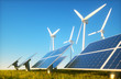 Leinwanddruck Bild - Sustainable energy concept