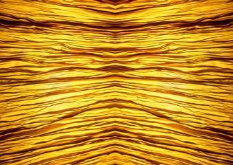 abstract background gold lighting behide fabric texture