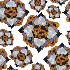Original vector seamless pattern