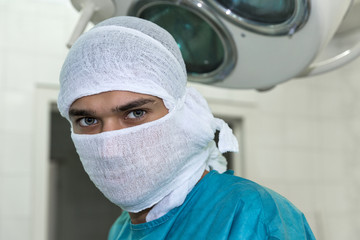 Surgeon's eloquent eyes