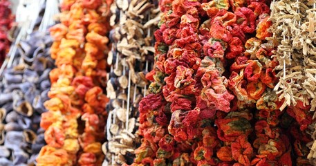 Dried Chillies, Istanbul