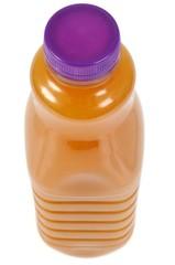 Bouteille de jus de fruit en plastique