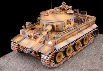 German heavy tank of World War II model