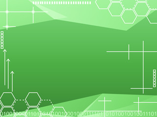Green Tech background