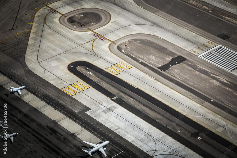 drogi startowej droga lotniska - powiększenie
