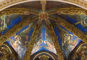 Valencia Cathedral Renaissance Frescoes