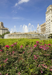 Barcelona: the exact center of the city