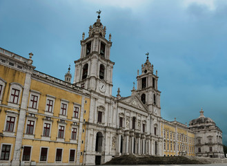 The National Palace, Mafra, Portugal