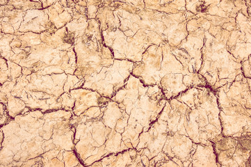 background dry soil with cracks
