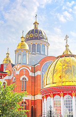 Church in Obolon district, Kyiv, Ukraine