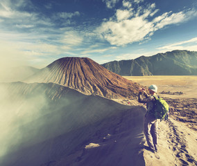 Hike in Indonesia