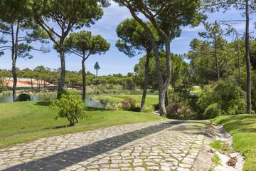 A beautiful golf course in Portugal